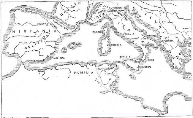 Coasts of the Mediterranean, illustrating the History of the Punic