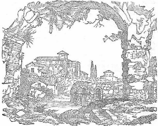 Ruins on the Esquiline